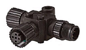 N2K-T-RD - Micro-C T-connector
